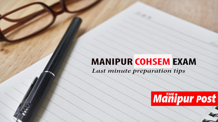 Manipur COHSEM Class 12 Exam Preparation Tips - The Manipur Post
