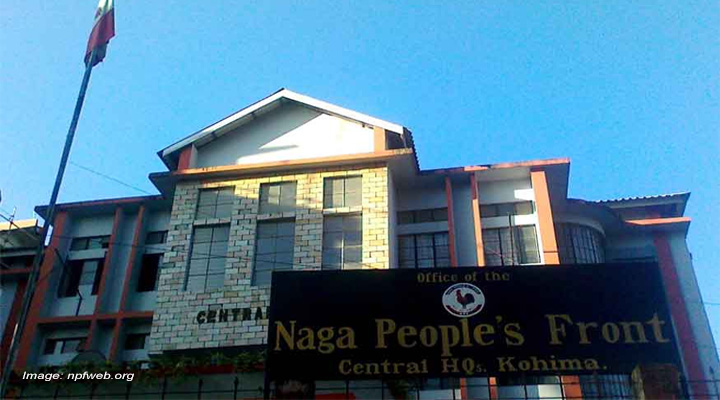 Naga People's front, manipur government,
