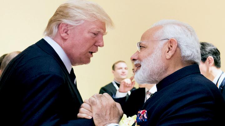 narendra modi, donald trump, indian pm, us president