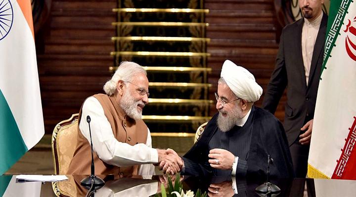Iran President, Hassan Rouhani,Prime Minister, Narendra Modi