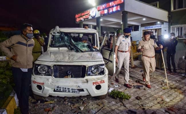 Police firing, Bangalore