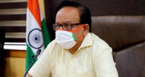 harsh vardhan, health minister,