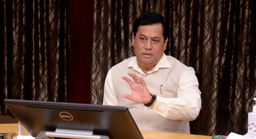 sarbananda sonowal, assam chief minister